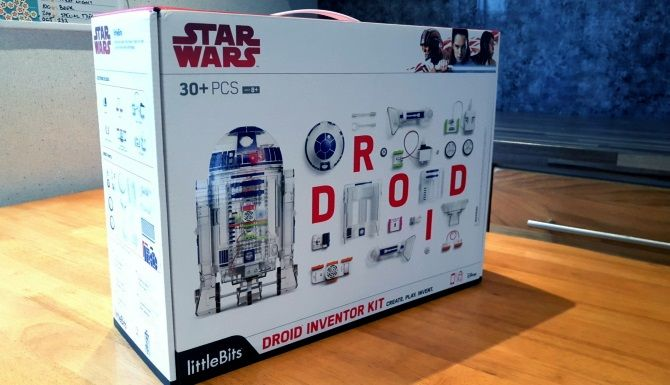 Build Your Own Star Wars Droid for Under $100 with littleBits muo giveaway r2d2 box