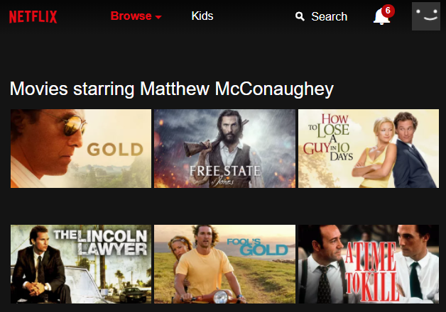 How to Enter Netflix's Secret Codes netflix matthew mcconaughey