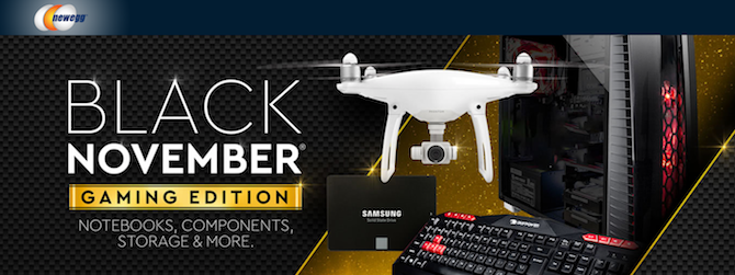 Newegg Black November
