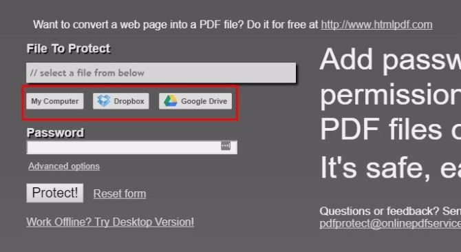 how to password protect pdfs free and paid options