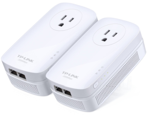 Best Powerline Adapters - TP-Link AV2000 (TL-PA9020P) Powerline Adapter
