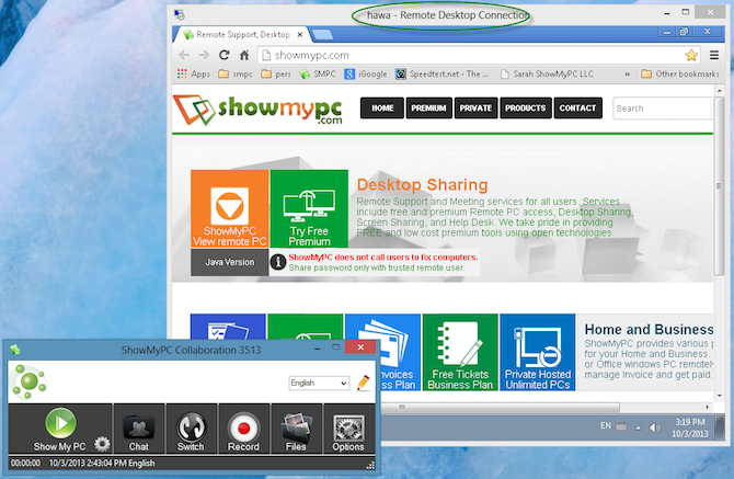 12 Excellent, Free Screen Sharing & Remote Access Tools You Haven't Heard Of Yet screen sharing showmypc 1 670x437