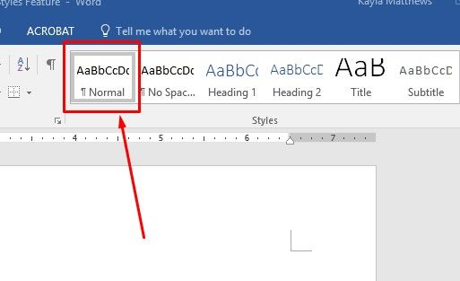 microsoft word styles feature make documents look great