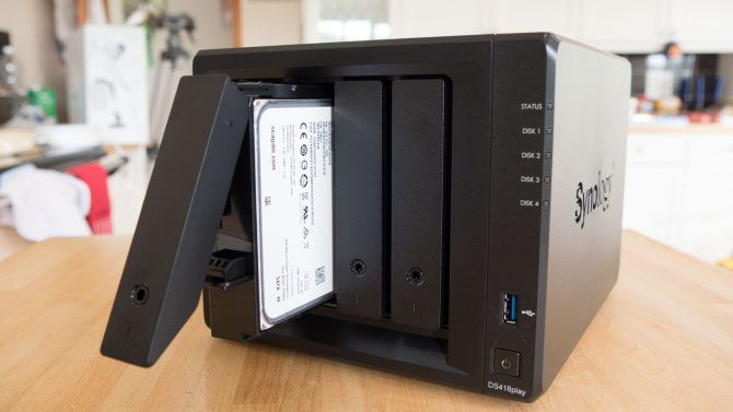 Synology DiskStation 418play: The Best 4-Bay NAS For