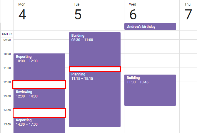 secret focus productivity batch tasks google calendar