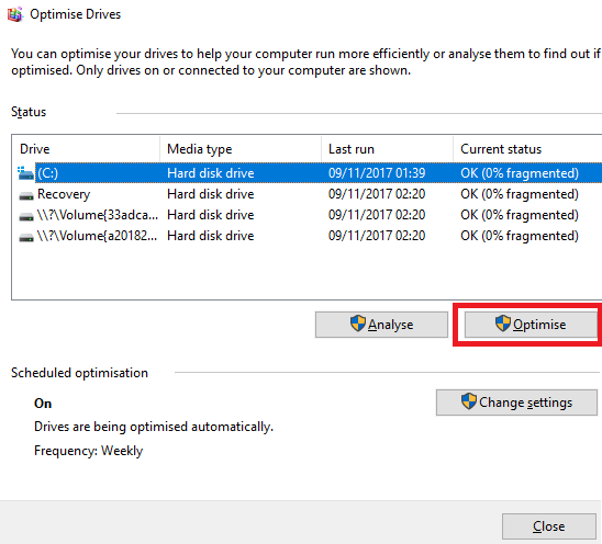 Optimize Windows Drivers
