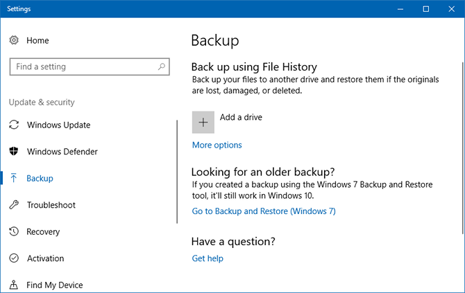The Windows Backup and Restore Guide windows file history 1