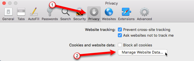 how to clear browsing history and data in safari