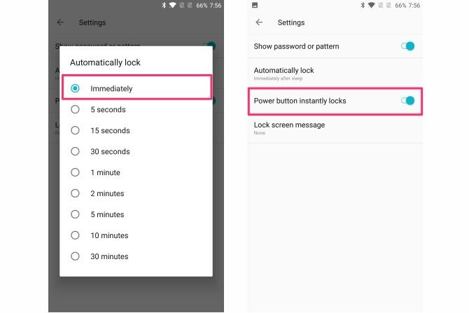 android settings you should change