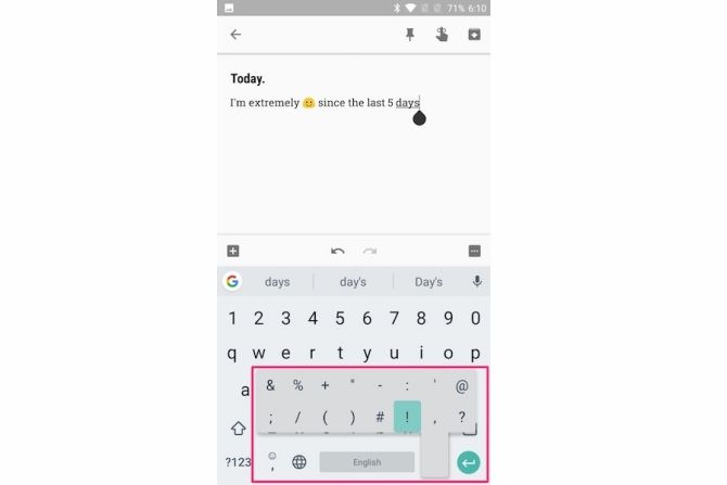 gboard tips type faster