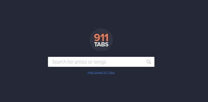 sites best free guitar and bass tabs