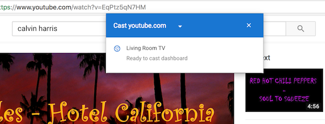 Cast To Chromecast from YouTube