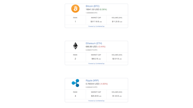 crypto dashboard add more coins