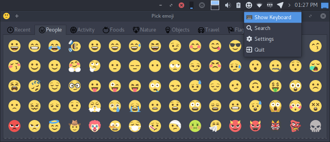 how to set up emoji keyboard on linux