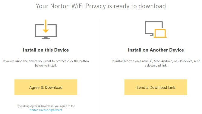 Install Norton WiFi Privacy