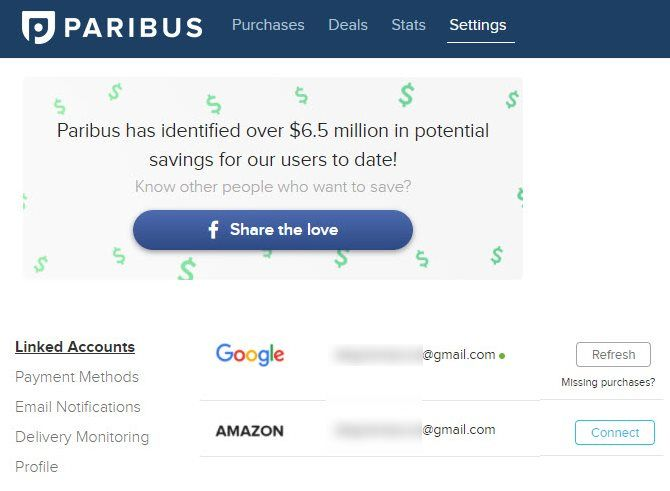 The Paribus Review: How to Save Money When Shopping Online Paribus Settings