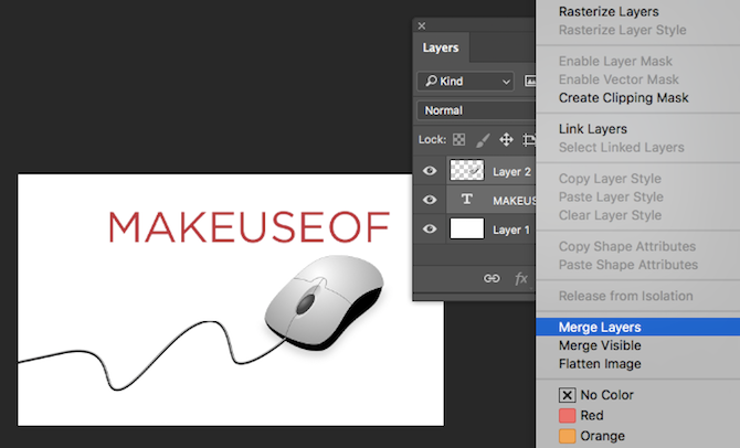 How to Resize and Merge Layers in Photoshop Photoshop Merge Layers