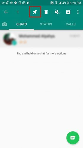How to Pin Conversations in WhatsApp Pin Whatsapp Android e1513121559834
