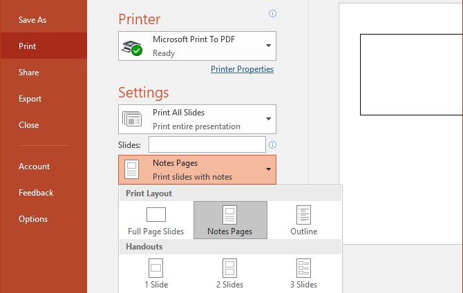 how to add speaker notes in powerpoint 2013