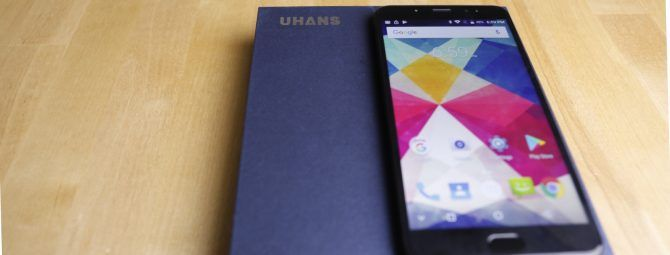 UHANS Max 2: The Biggest Screen Ever on a $150 Smartphone