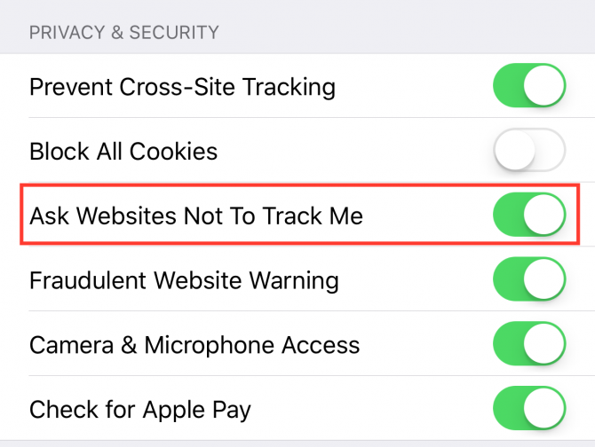 How to Disable Ad Tracking in Safari on iOS 11 Safari iOS11 e1512086679405