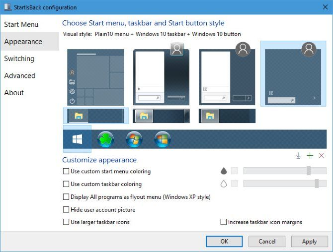 The 7 Best Windows Start Menu Alternatives and Replacements StartIsBack Visual Options