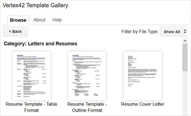 google docs add on template gallery