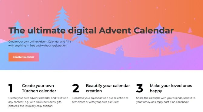 Free Online Advent Calendars For Adults  Children
