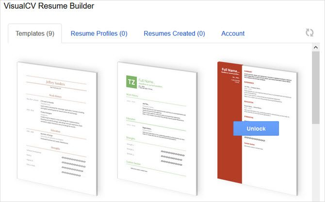6 google docs resume templates for all styles and preferences google docs add on visualcv resume builder maxwellsz