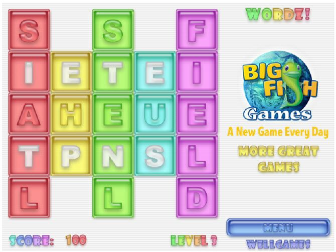 Free Online Word Games - Wordz!
