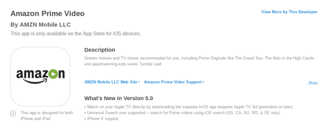 You Can Now Use Amazon Prime Video on Apple TV amazon prime video update