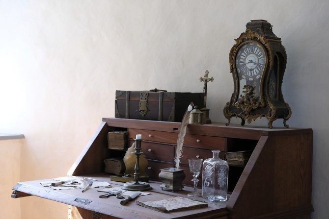 Compact Home Office Desks Secretary Desk