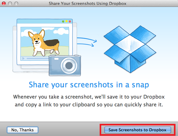 How to Automatically Save and Upload Screenshots to Dropbox on Mac dropbox screenshots