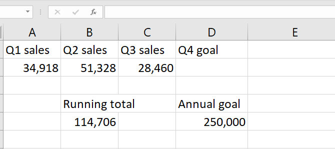 excel goal seek solve for unknown variables