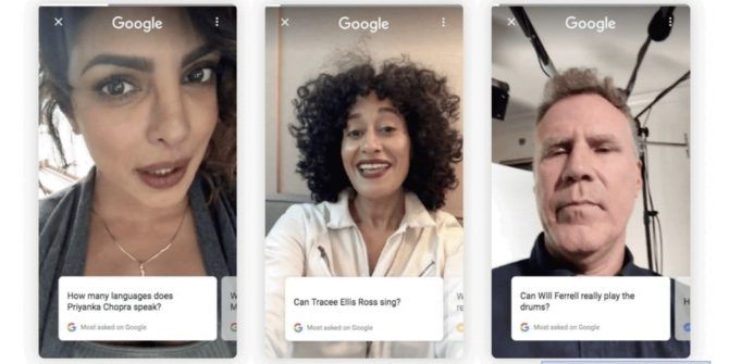 Google Asks Celebrities to Answer Your Questions