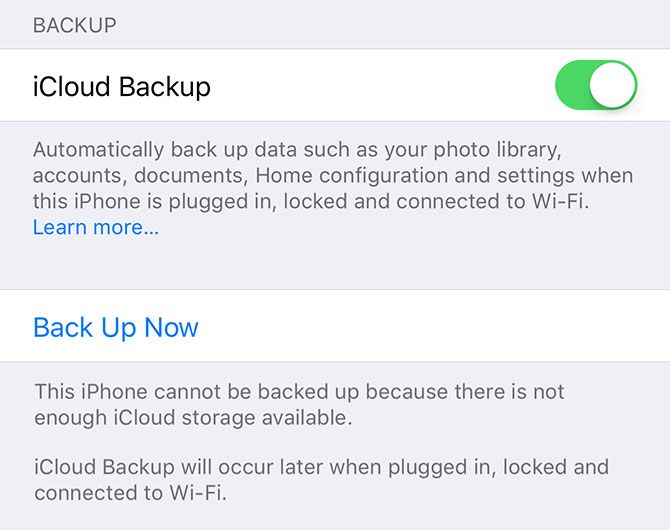 A Complete Beginner's Guide to iOS 11 for iPhone & iPad icloud backup fail