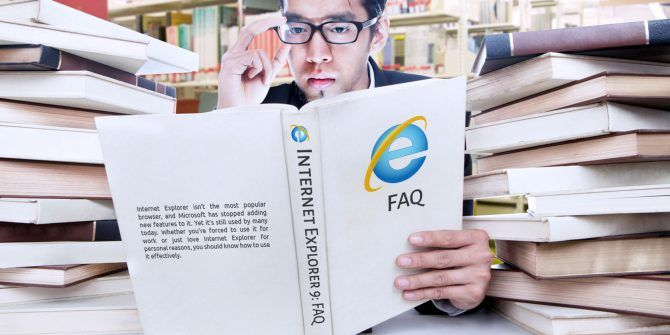 The Internet Explorer FAQ for the Die Hards