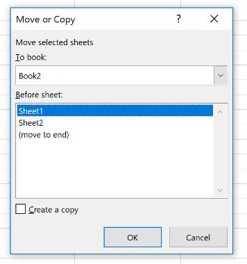 merge excel sheets