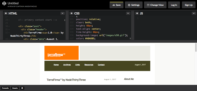 5 Best Free Online HTML Editors to Test Your Code online html editor codepen