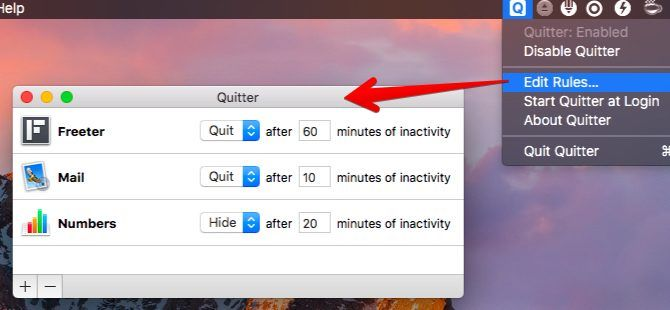 quitter-Mac Menu Bar Apps