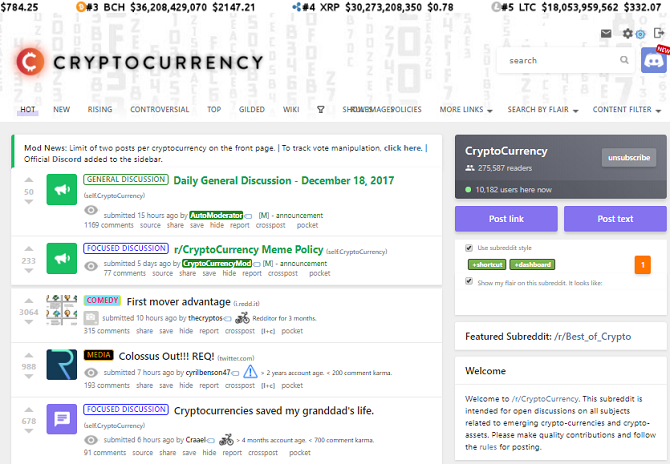 best bitcoin news sites