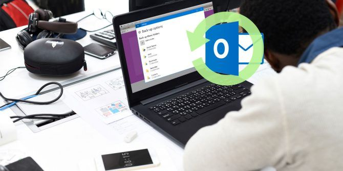 How to Back Up Your (Outlook) Email With Windows 10 File History