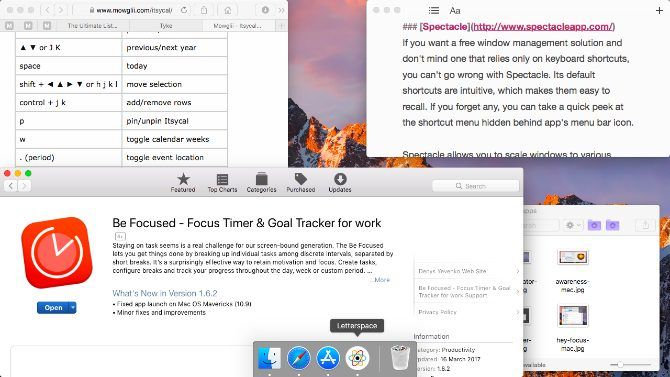 spectacle-Mac Menu Bar Apps