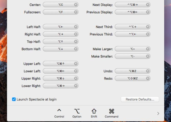 spectacle-shortcuts-Mac Menu Bar Apps