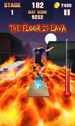 floor is lava mobile games