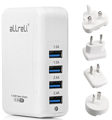 10 Top Tech Gifts for Globetrotters and World Travelers usb charger