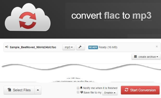 how to convert flac to mp3 for free
