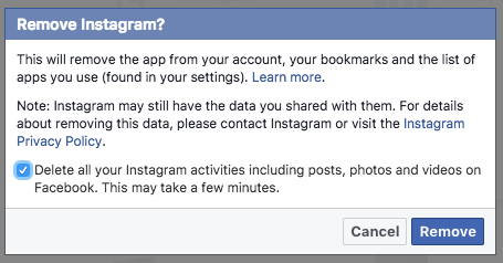 How to Disconnect Your Instagram Account From Facebook Facebook2