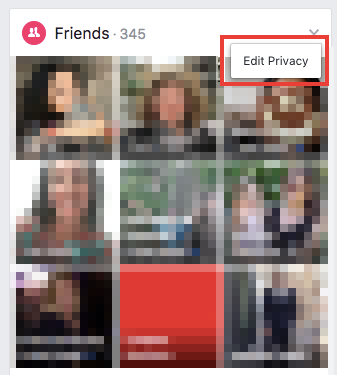 How to Hide Your Friends List on Facebook Friends List