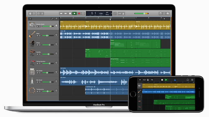 Professional audio production software